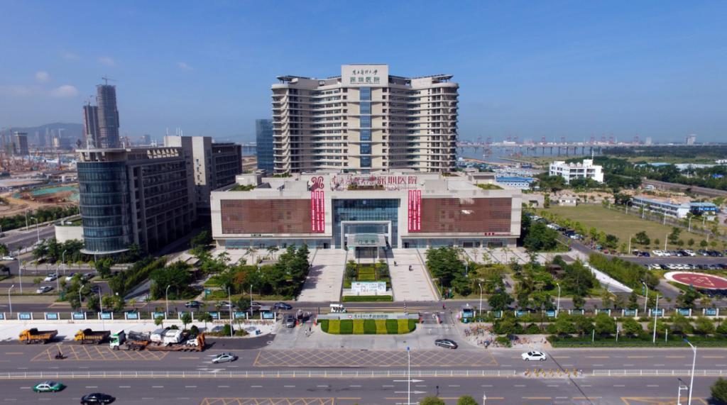 南医大深圳医院全景图-肖烈辉 南医大深圳医院的加速成长路